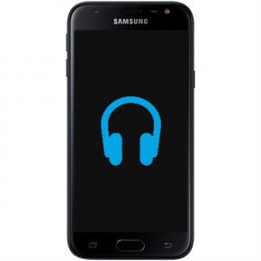 Samsung Galaxy J3 Byta hörlursuttag