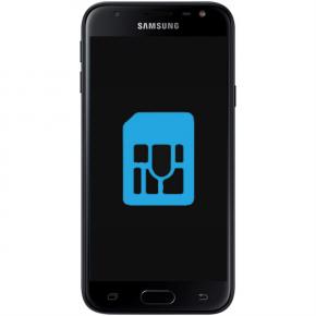 Samsung Galaxy J3 Byta simkortsläsare