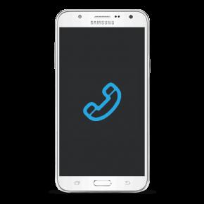 Samsung Galaxy J7 Byta samtalshögtalare