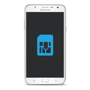 Samsung Galaxy J7 2015 Byta simkortsläsare