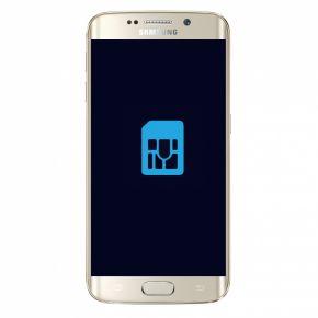 Samsung Galaxy S6 edge Byta simkortsläsare