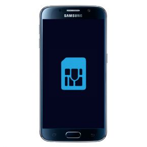 Samsung Galaxy S6 Byta simkortsläsare