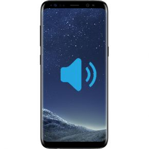 Samsung Galaxy S8 plus Byta högtalare