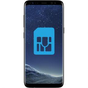 Samsung Galaxy S8 Byta simkortsläsare