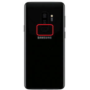 Samsung Galaxy s9 plus Byta fingerprint sensor
