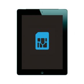 iPad 2,3,4  Byta simkortsläsare