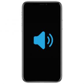 iPhone X Byta högtalare