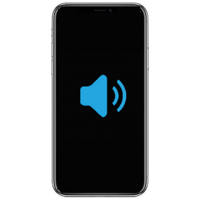 iPhone XR Byta högtalare