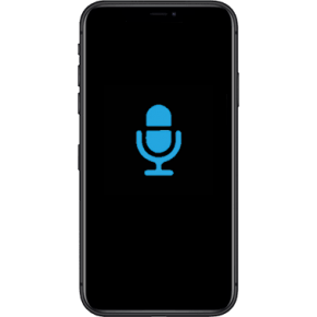 IPhone XS Max Byta Mikrofon