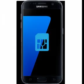 Samsung Galaxy S7 edge Byta simkortsläsare