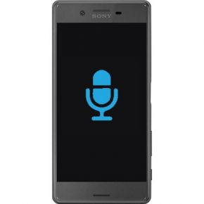 Sony Xperia X Compact byta mikrofon