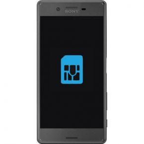 Sony Xperia X Performance Byta simkortsläsare