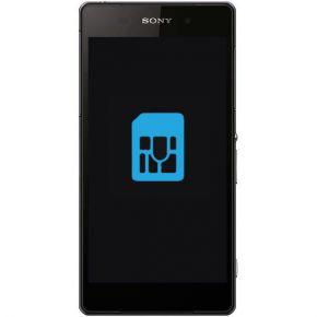 Sony Xperia Z2 Byta simkortsläsare